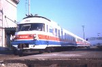 AMTRAK 63 RTG TURBO, JOLIET, SUMMER 72